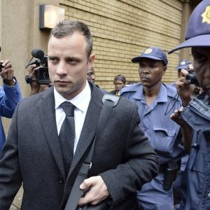 Raw: Pistorius Arrives for Day 3 of Murder Trial