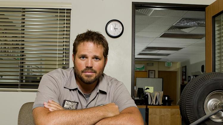 David Denman stars as Roy on NBC's The Office.