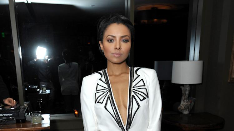 Kat Graham attends the DETAILS Hollywood Mavericks Party hosted by Dan Peres at Soho House on Thursday, Dec. 5, 2013, in West Hollywood, Calif. (Photo by John Shearer/Invision for DETAILS Magazine/AP Images)