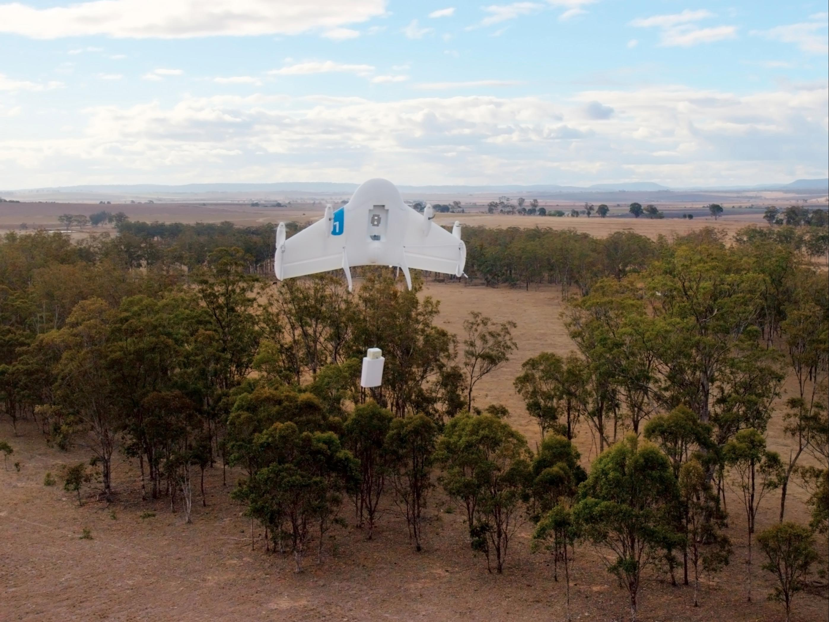 Google just registered two new delivery drones to test in the US