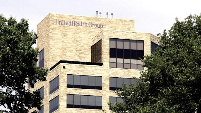 FILE - This July 16, 2007, file photo, shows the headquarters of UnitedHealth Group Inc. in Minnetonka, Minn. UnitedHealth Group Inc., the nation's largest health insurer,  said Monday, June 11, 2012, it sees some parts of the health care overhaul as sound medicine and plans to keep them even if the law fails to survive an upcoming Supreme Court ruling. AP Photo/Jim Mone, File)