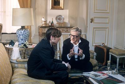 Jeremy Davies and Giancarlo Giannini in United Artists' CQ