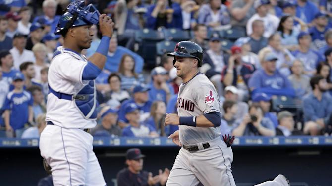 Indians rough up Danny Duffy, roll to 10-3 win over Royals