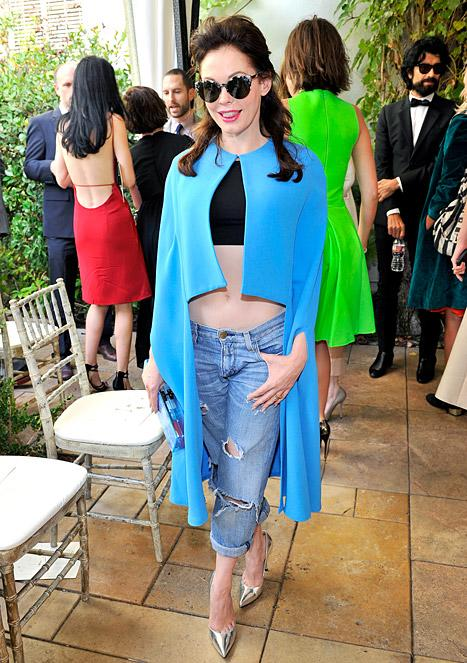 Write a Fashion Police Caption for Rose McGowan