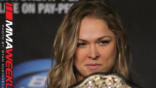 UFC Women's Champ Ronda Rousey Believes Fallox Fox Has Unfair Advantage