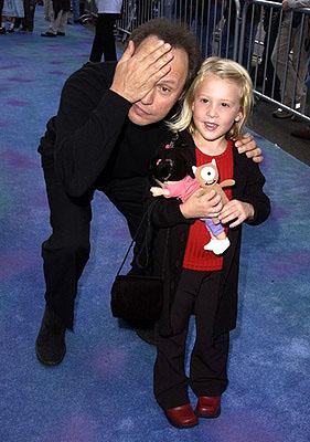 Billy Crystal and Mary Gibbs at the Hollywood premiere of Monsters, Inc.