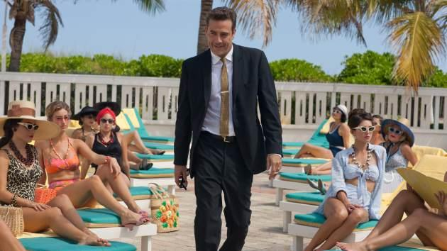 Jeffrey Dean Morgan as Ike Evans in Starz's 'Magic City'  -- Starz