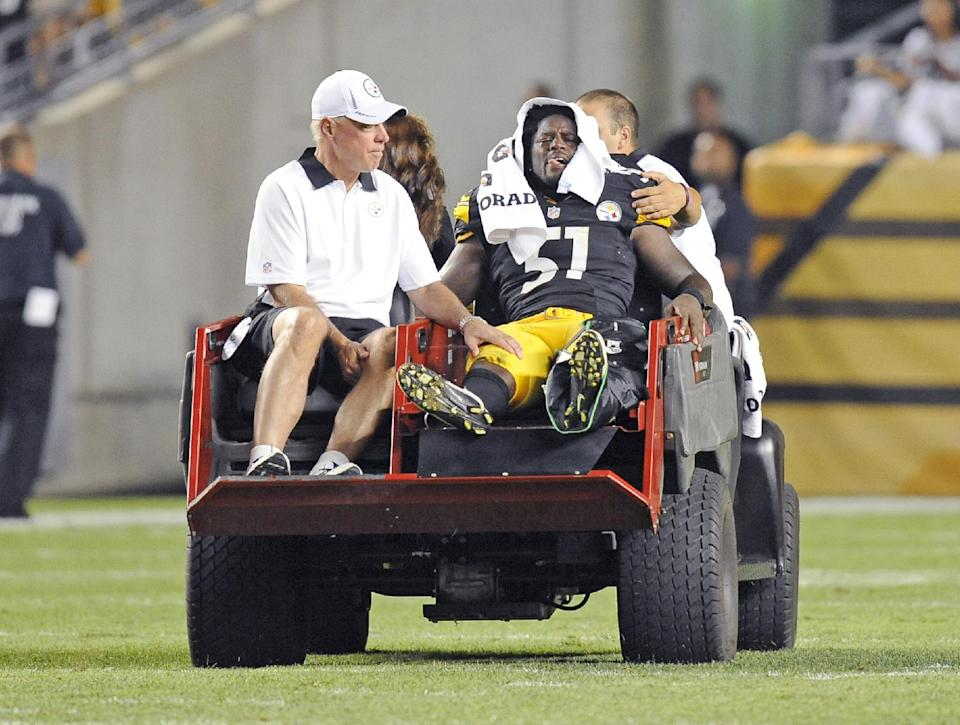 Steelers LB Spence finally back on the field