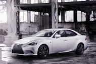 The new Lexus IS will debut at the Detroit Motor Show on 15th January 2013