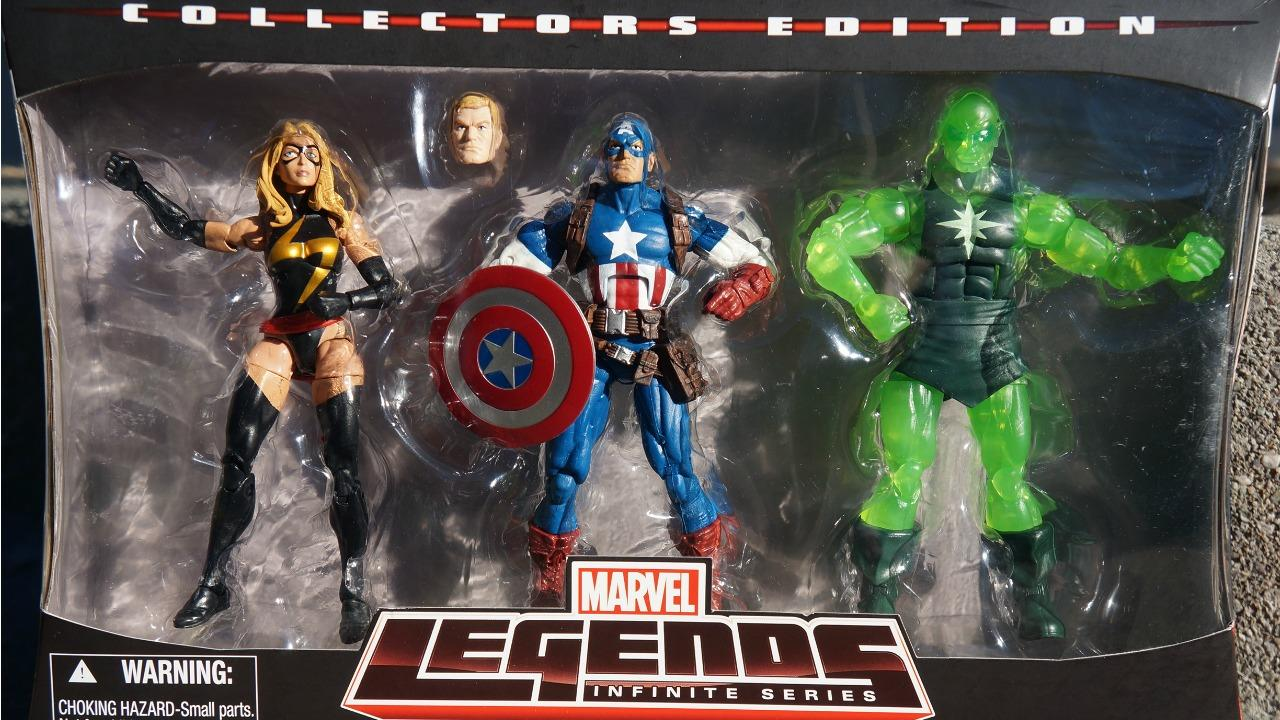 Awesome Toy Picks: Captain America/Carol Danvers Marvel Legends Infinite Series Collection