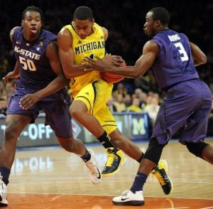 Hardaway scores 23, No. 4 Michigan beats K-State