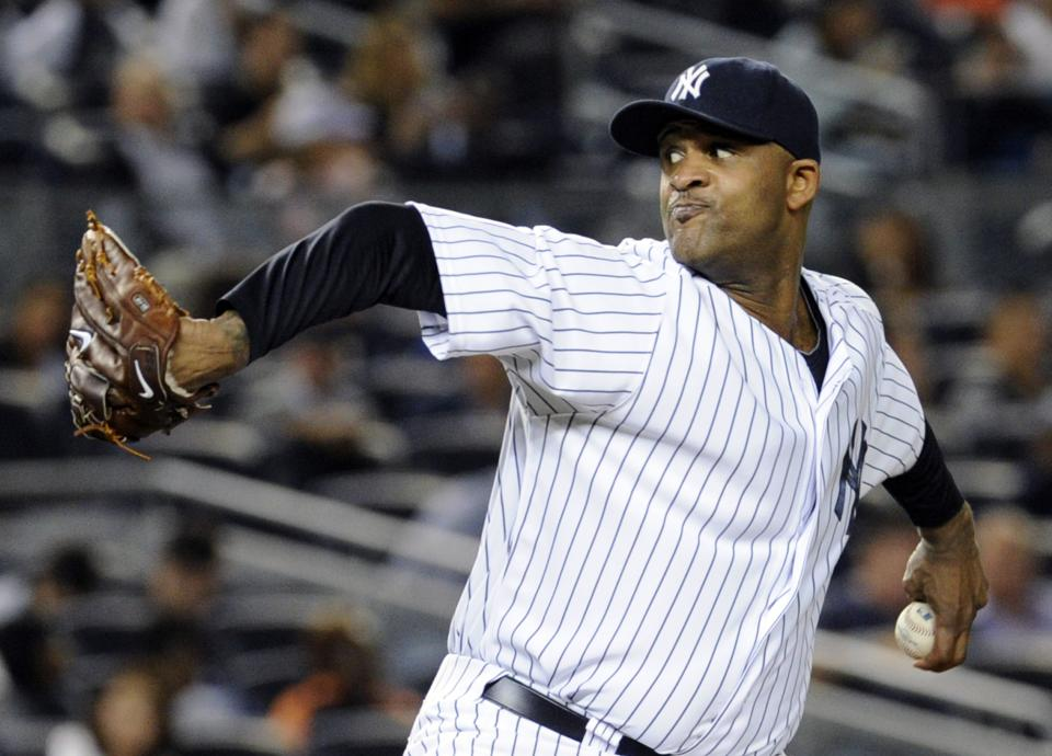 Sabathia out rest of season with hamstring strain