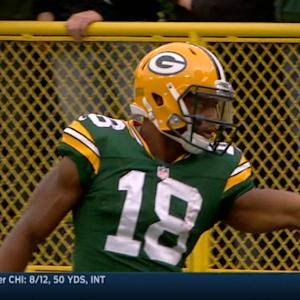 Randall Cobb makes 2 terrific catches in Week 7