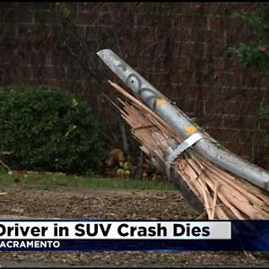 Driver In Carmichael SUV Crash Dies