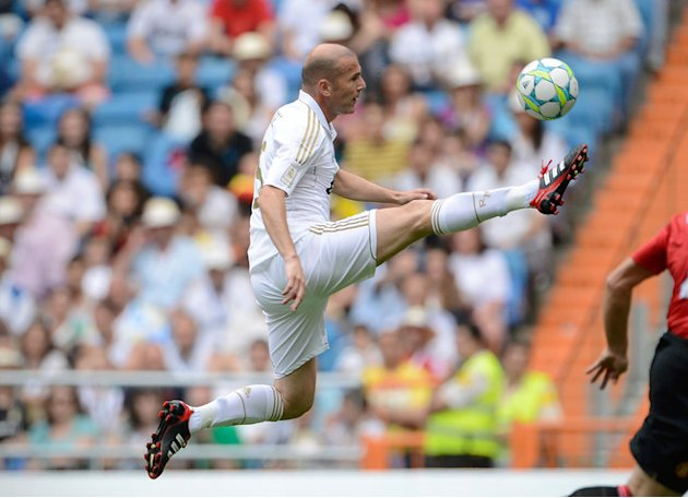 Real Madrid's Zinedine Zidane Controls AFP/Getty Images