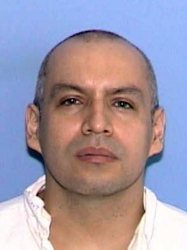 This handout photo provided by the Texas Department of Public Safety shows Ramon Torres Hernandez. Hernandez, 39, is scheduled to die Wednesday for the rape, robbery and slaying of Rosa Maria Rosado, who was abducted from a bus stop in 2001. A shovel used to bury her in a shallow grave helped tie him to the crime.(AP Photo/ Texas Department of Public Safety)
