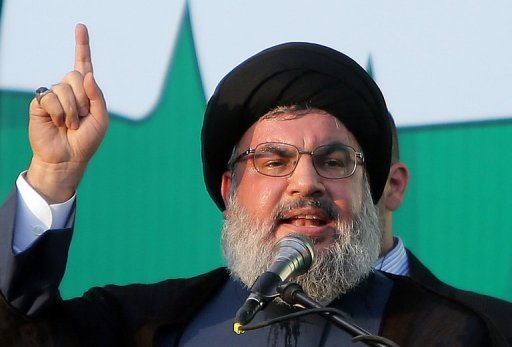 Hezbollah chief Hassan Nasrallah, pictured on September 17, 2012, warned Al-Qaeda on Sunday that it had been tricked into fighting in Syria, and that the rebellion would not be able to topple the regime of President Bashar al-Assad militarily