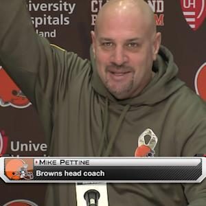 Pettine playful with reporters