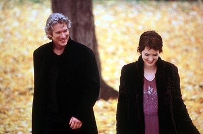 Will Keane ( Richard Gere ) and Charlotte Fielding ( Winona Ryder ) in MGM's Autumn In New York