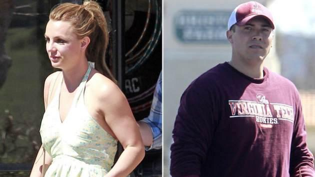 Britney Spears and her rumored new beau David Lucado in Los Angeles on March 13, 2013 -- Pacific Coast News