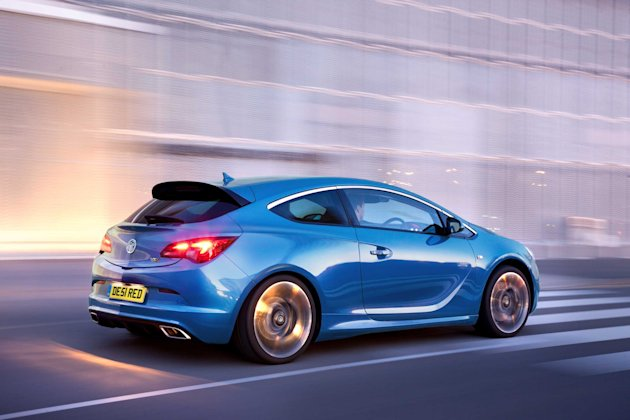Vauxhall Astra VXR: 	With a storming 276bhp from its turbocharged 2-litre engine Vauxhalls VXR Astra doesnt often stand still long enough for folk to admire its racy styling. The body comes from the