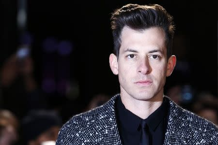 "Singer Mark Ronson arrives for the UK premiere of ""Mortdecai"" at Leicester Sqaure in London"