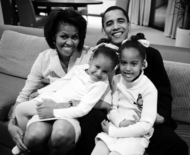 Michelle Obama Pinterest family