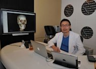 Joo Kwon, the founder of CEO of JK Plastic Surgery Center, pictured at his office in Seoul, last month. Chinese are packing Joo's centre -- one of the country's largest -- and many other clinics, lured by the looks of South Korean entertainers who have taken Asia by storm