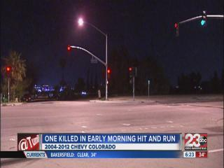 One killed in hit and run accident