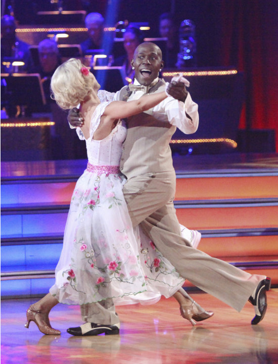 Donald Driver and Peta Murgatroyd perform on &quot;Dancing With the Stars.&quot; 