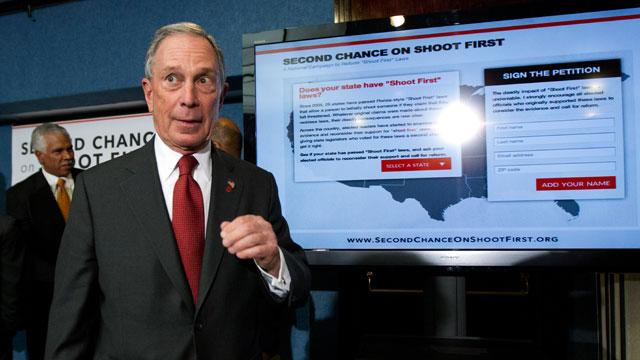 Bloomberg Blasts NRA Over 'Stand Your Ground' Laws