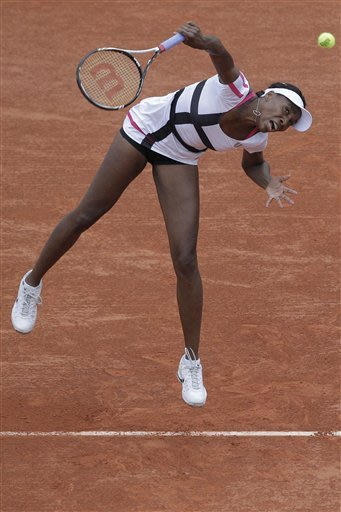 Venus Williams loses in 2nd round of French Open