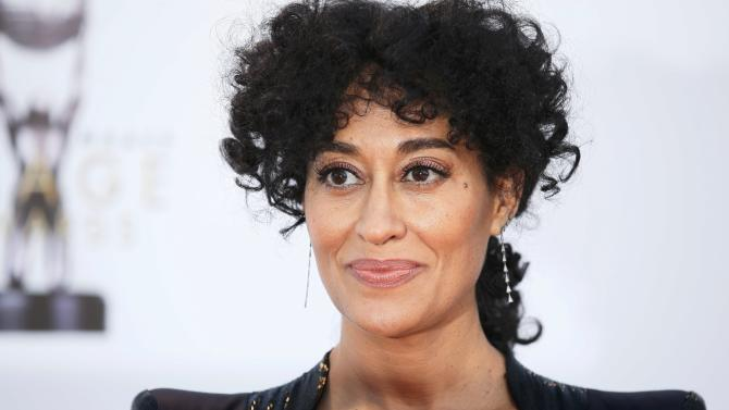 Actress Tracee Ellis Ross arrives at the 47th NAACP Image Awards in Pasadena
