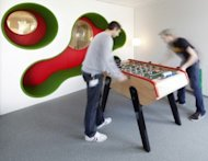 2 Ways to Instantly Boost Creativity in the Office image LEGO foosball 300x232