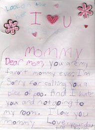 Dear Mommy...