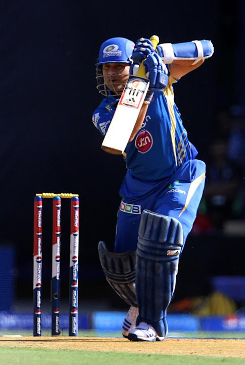 Mumbai Indian player Sachin Tendulkar
