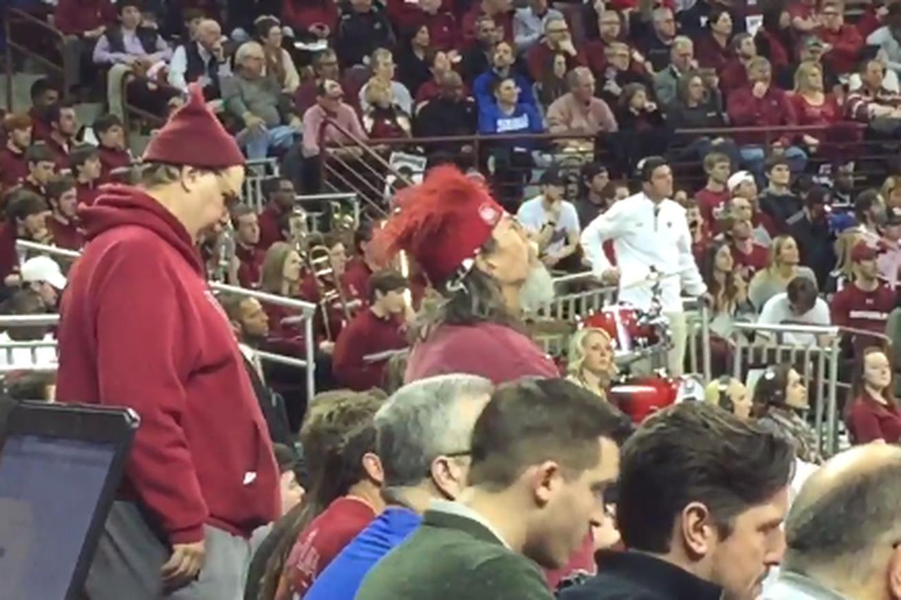 Foolish people are mocking this awesome South Carolina fan because they don't have good taste