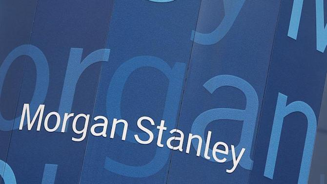 The headquarters of Morgan Stanley is pictured in New York