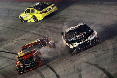 Wreck started by Jimmie Johnson knocks out Kevin Harvick, David Ragan
