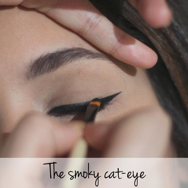 Cat-Eye Look