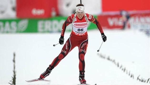 Biathlon - Maiden World Cup win for Solemdal in Austria