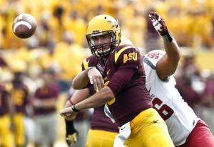 Arizona State routs Washington State 46-7