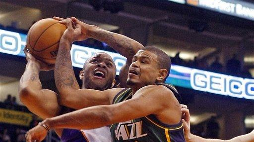 Suns slip past Jazz 99-84
