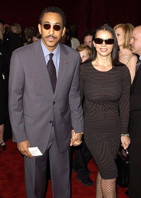 Gregory Hines and gal