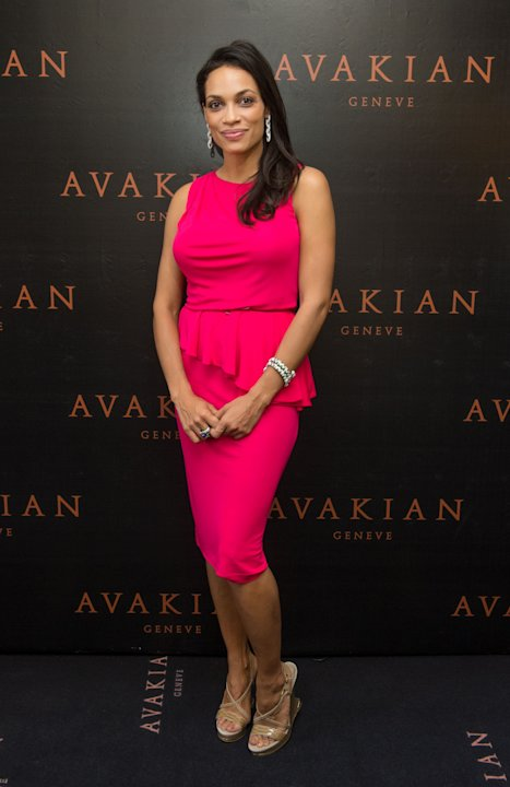 Rosario Dawson, Ornella Muti & Olga Rodionova Visit The Avakian Suite At The Carlton Hotel In Cannes