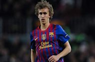 Stoke new-boy Muniesa admits sadness over Barca exit