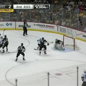 Marc-Andre Fleury Save on Taylor Fedun (10:59/2nd)