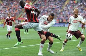 Milan 1-0 Torino: Balotelli boosts Rossoneri's Champions League hopes
