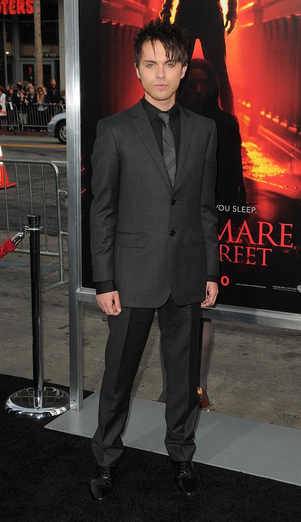 A Nightmare on Elm Street LA Premiere 2010 Thomas Dekker