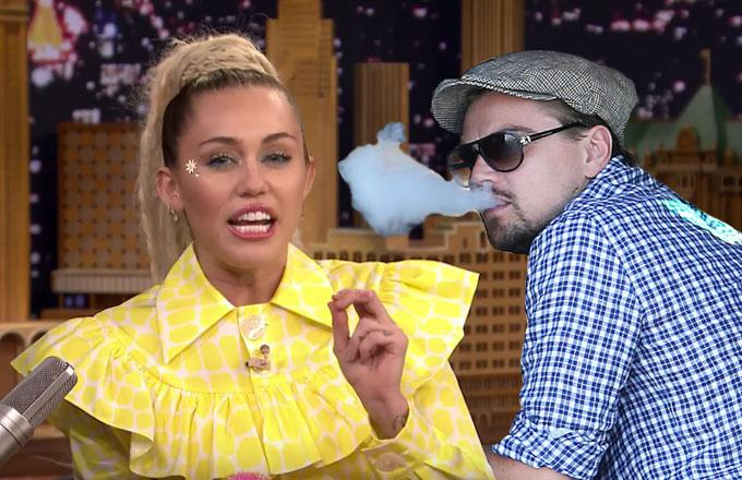 No Miley Cyrus, Leonardo DiCaprio Does Not Want to Vape With You